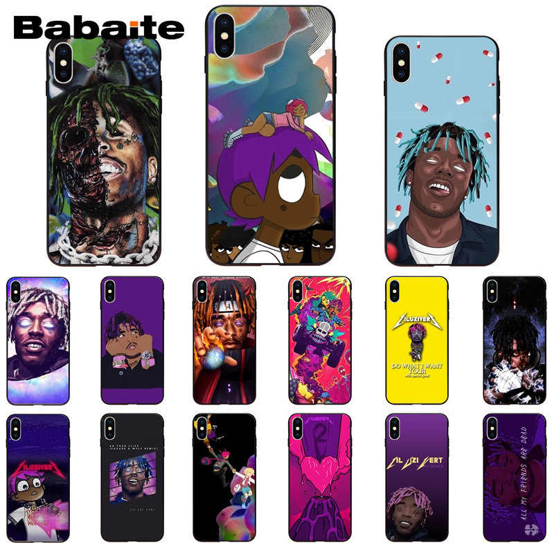 Babaite Lil Uzi Vert Soft Rubber Black Phone Case For Apple Iphone