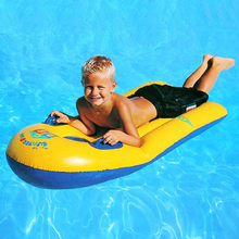 Body Intelligent Double Chamber Children Board Floating Row Water Inflatable Floating Bed Baby Water Swimming Foam Toys intex pacific paradise lounge marine intex 58286 chaise lounge water floating row floating bed water
