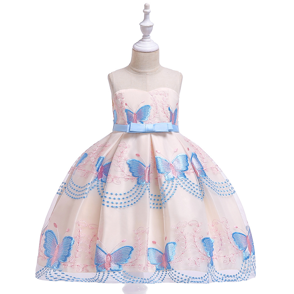 Beauty A-Line First Communion   Flower     Girls     Dresses   Little   Girls   Real Party   Dress   for Wedding Kids Evening Party Gow