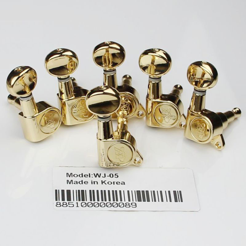 6R NEW Wilkinson WJ05 Tuners Machine heads Mini Oval Tuner for ST Gold