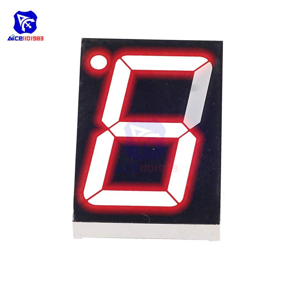 1PCS NEW 1.8 inch 1 digit Green Led display 7 segment Common cathode