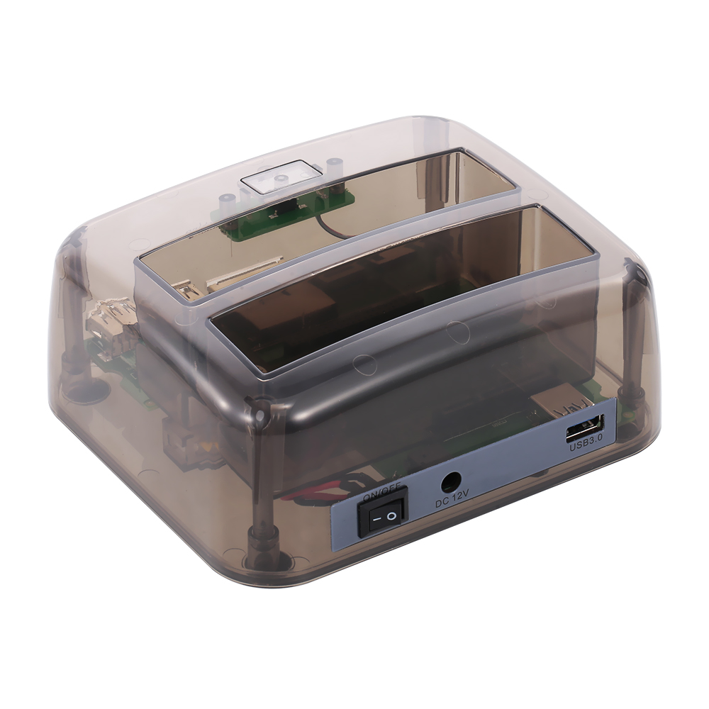 HDD Docking Station Hard Drive Docking Station USB 3.0 To 2.5/3.5inch SATA Hard Disk Case Dual Bay HDD SSD Fast Speed