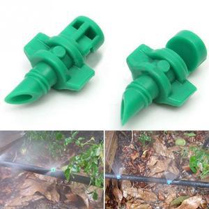 Image 3 - 50 adet/grup 180 derece mikro bahçe çim su püskürtme Misting memesi yağmurlama sulama sistemi