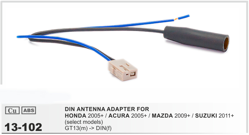 Car Dvd Radio Stereo Iso Cable Antenna Aerial Adapter For Honda Rhaliexpress: Mazda Radio Antenna At Gmaili.net