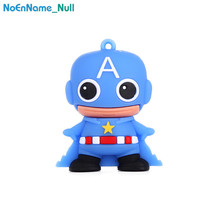 Spiderman/Superman Usb Flash Drive 8GB 16GB 32GB Superhero Classic Cartoon Pen 64GB 128GB Best Gift Pendrive Memoria