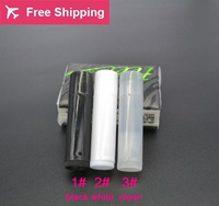 100pcs Lot New Arrival 5g Black White And Clear PP Plastic Empty Lip Balm Lipstick DIY