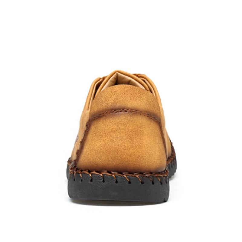 Hombres Mocasines Nuevos Caliente Gran De Tamaño Los Venta 2018 Cuero 601yellow Calidad Casuales 601black Zapatos 601khaki qUn5I