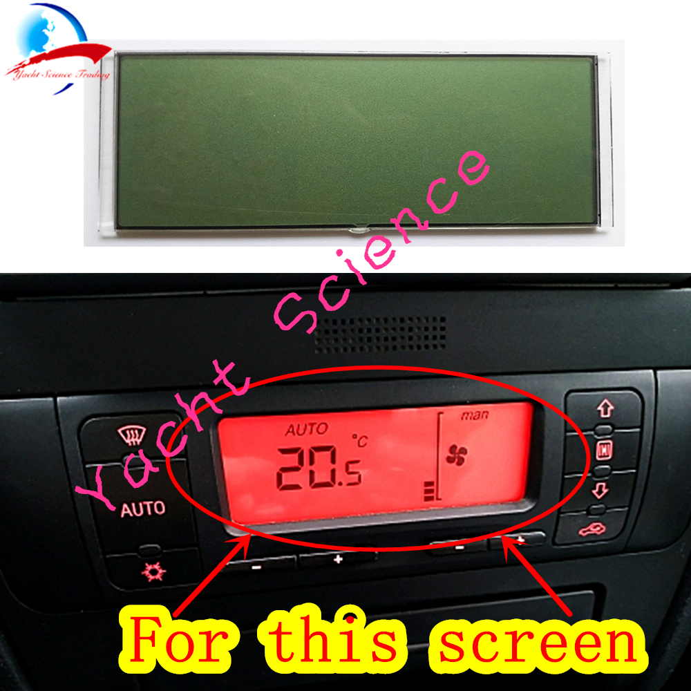 Image 3 - Car ACC Unit LCD Display Climate Control Monitor Pixel Repair Air Conditioning Information Screen For Seat Leon/Toledo/Cordoba-in Car Monitors from Automobiles & Motorcycles