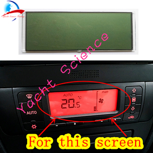 Image 3 - Car ACC Unit LCD Display Climate Control Monitor Pixel Repair Air Conditioning Information Screen For Seat Leon/Toledo/Cordoba
