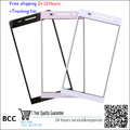Front Glass Lens Outer Lens Glass for Huawei Ascend P6 P6S digitizer screen front outer glass lens,White/Black/Pink,Freeshipping