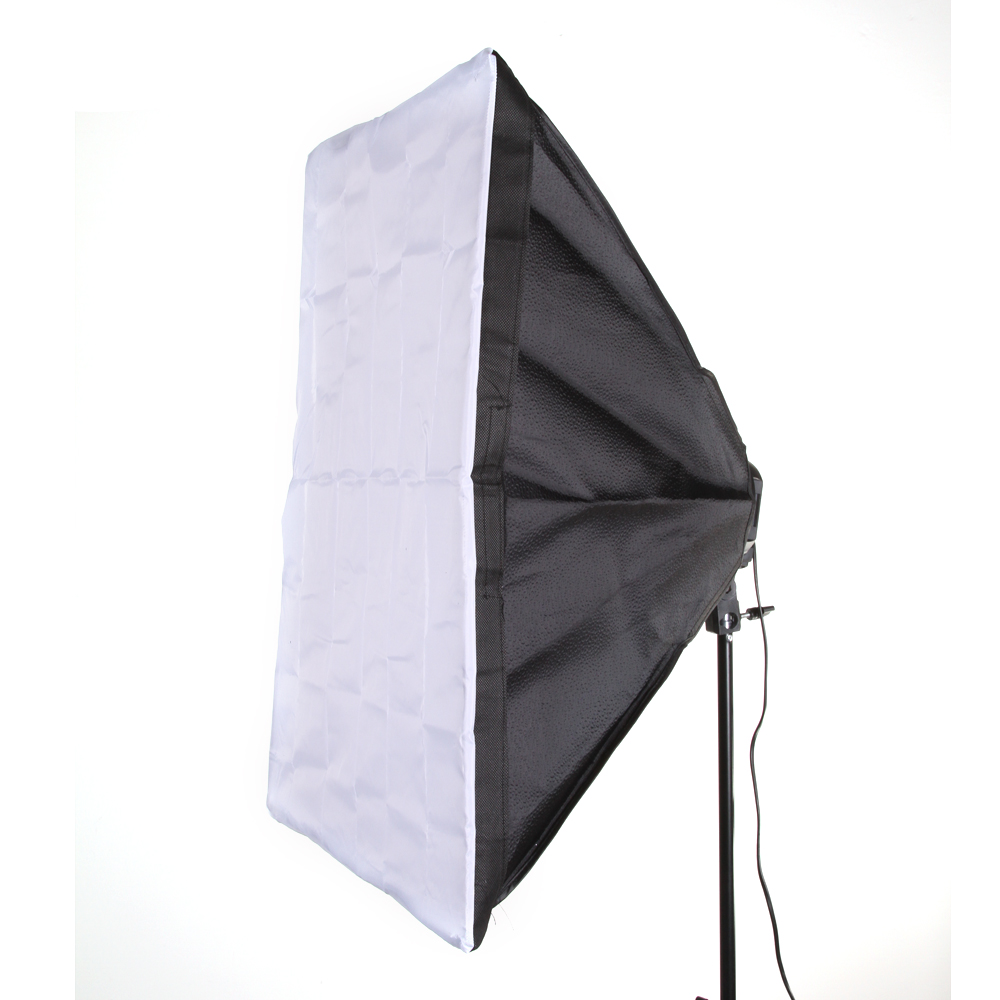 60 x 90cm 24x35 Softbox Studio Photography for 5 in 1 Socket E27 Light Lamp Bulb
