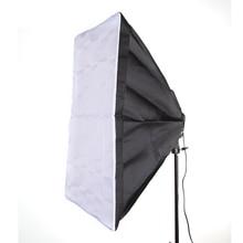 60 x 90cm 24×35″ Softbox Studio Photography for 5 in 1 Socket E27 Light Lamp Bulb