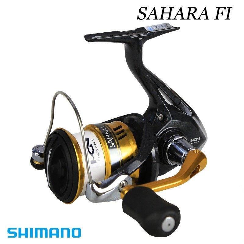 100 Original 2017 NEW MODEL SHIMANO SAHARA FI C2000HGS 2500HGS C3000 4000 Gear ratio 4 7