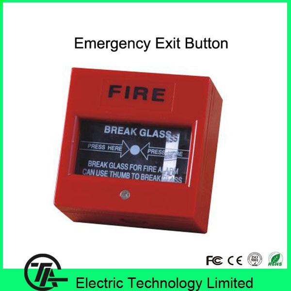 10pcslot Emergency Switch Exit Button Door Release Glass Break