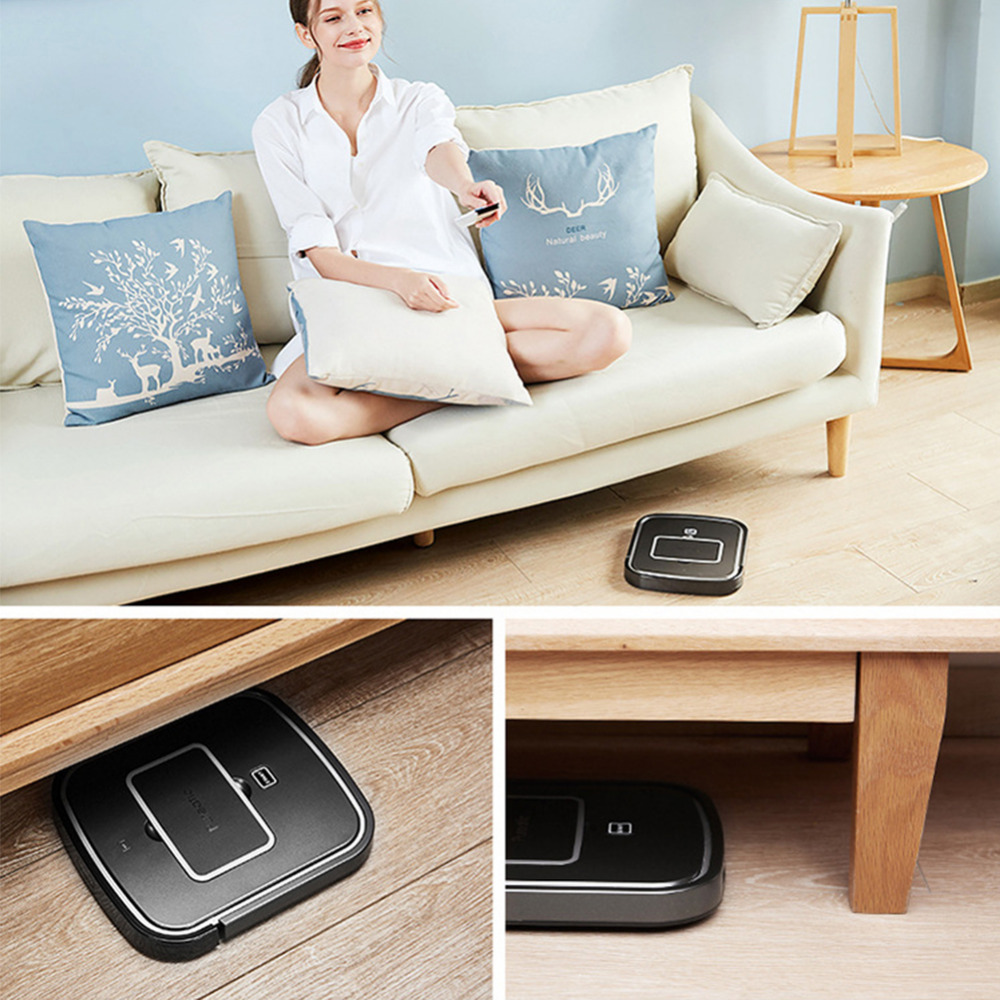 Automatic Sweeping Robot Wireless Vacuum Cleaner Home Carpet & Floor Pet Hair Sweeping Usb Rechargeable Vacuum Cleaner 4 Colors Modern Design Cleaning Appliances