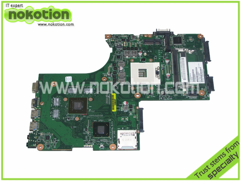 NOKOTION V000288010 Laptop Motherboard for TOSHIBA P870 1310A2492416 Intel HD4000+<font><b>Nvidia</b></font> <font><b>GT630M</b></font> Mainboard full tested image