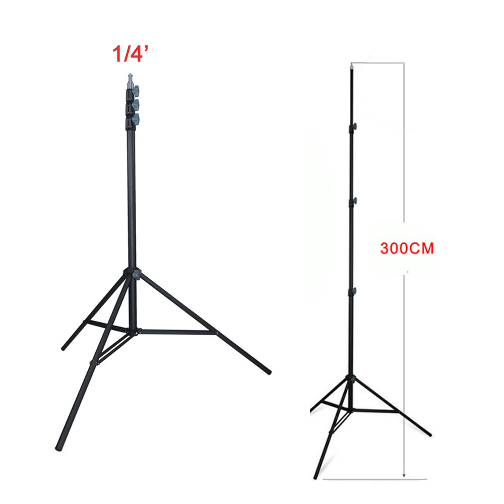 Metal Tripod 225CM/2.25M 300CM/3M Laser Level Tripod Laser Tripod for Laser Level Adjustable Tripod-in Laser Levels from Tools