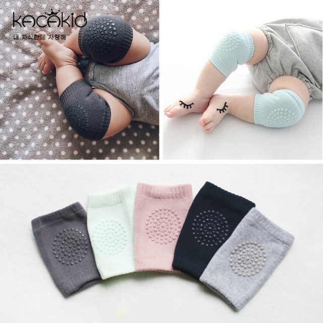 KACAKID Baby Knee Sleeves Kids Children Baby Leg Warmers Cotton Anti-slip Protecting Baby Knee Sleeves Baby Leg Warmers   Ka1247