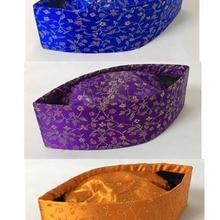 Цветочный принт узор Для мужчин мусульманская Шапка-тюрбан исламский головной убор размер, 56,58, 59,60