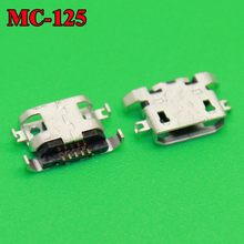 1x 100% New micro USB connector charging port Replacement Parts for Lenovo A670 S650 S720 S820 S658T A830 A850(China)