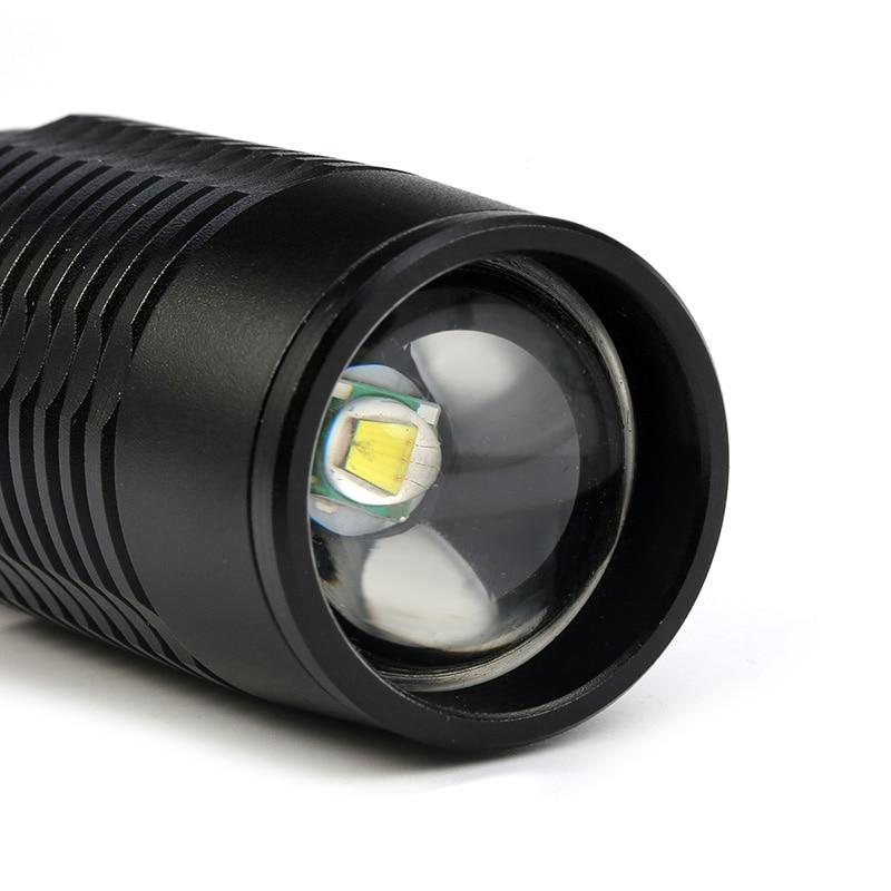 ZK20 Linterna LED V5 T6 8000LM 5 modos Zoom dropshipping Linternas - Iluminación portatil - foto 2