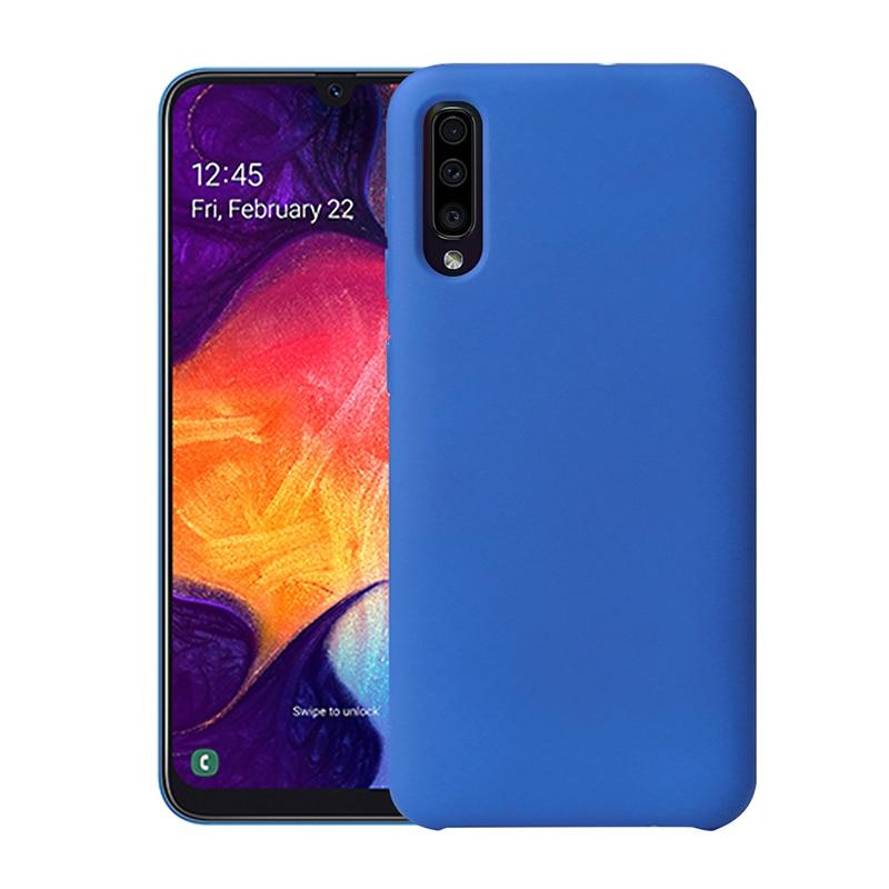 Чехол для samsung Galaxy A50, роскошный силиконовый мягкий матовый чехол для samsung Galaxy A10 A20 A30 A40 A70 A50, чехол для телефона