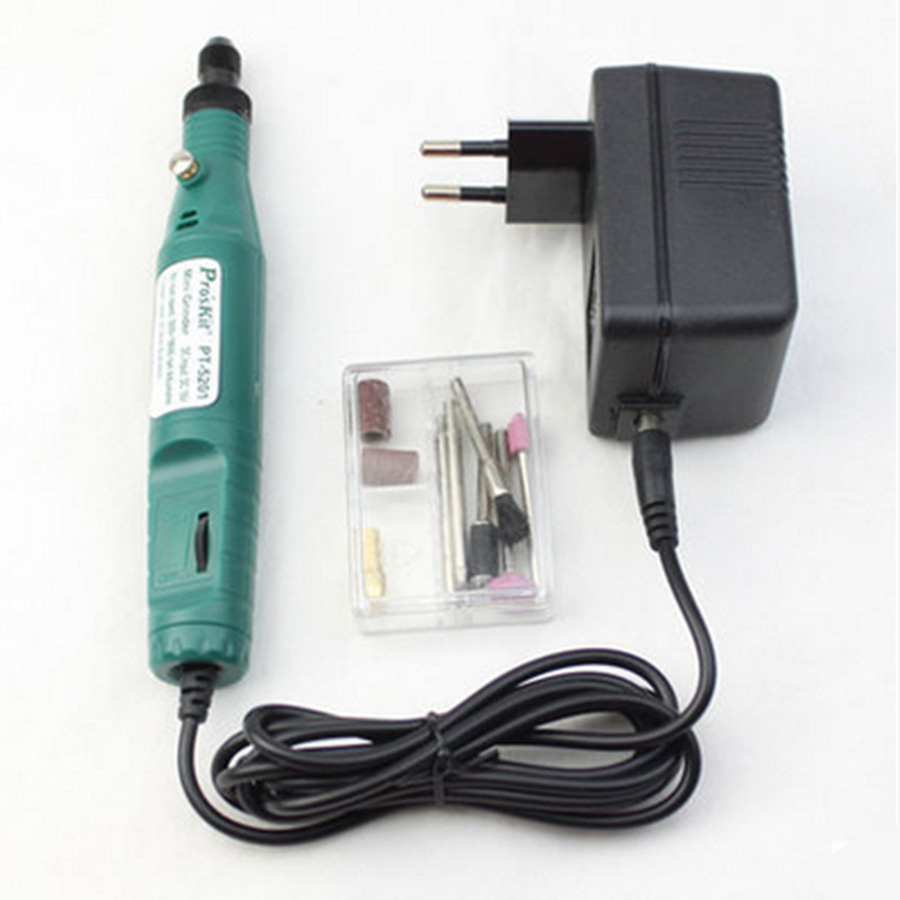 PT-5201B brand portable mini grinder electric mill small polishing engraving carving pen 5000-18000 rpm цена