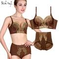 Sexy Lace Bra Panty Sets For Women Underwear Set 32 34 36 38 A B C Push Up Bra Brand Lingerie Set Fashion Intimates 8194