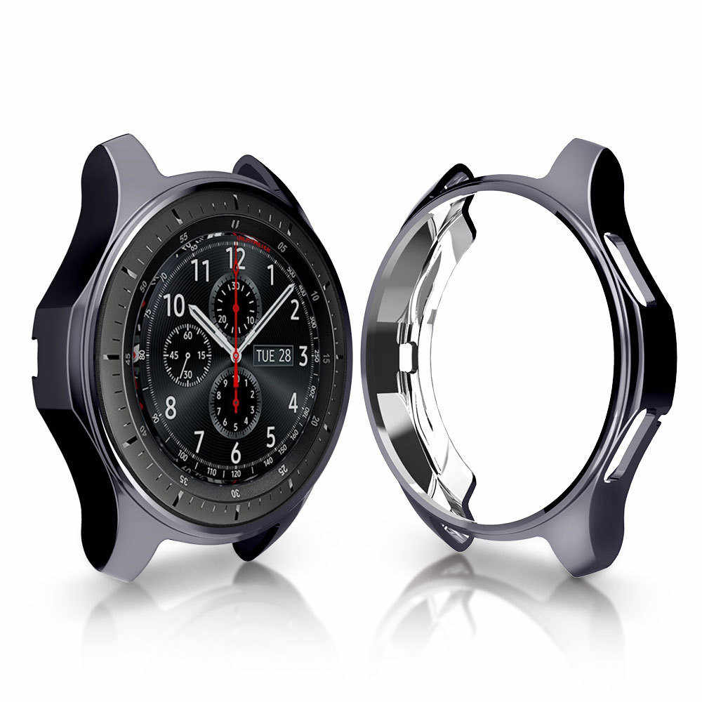 New Fashion Smart Cover For Samsung Galaxy Watch 46mm Ultra-thin TPU Plating Protective Case Cover Drop Shipping 527#