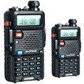 Baofeng УФ-5R Рация 2 ШТ. Dual Band Двухстороннее cb Радио UV5R УФ-5R 5 Вт 128CH UHF VHF FM VOX Двойной Дисплей