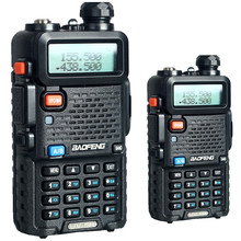 Baofeng UV-5R Walkie Talkie 2PCS Dual Band Two Way cb Radio UV 5R 5W 128CH UHF VHF FM VOX UV5R Dual Display