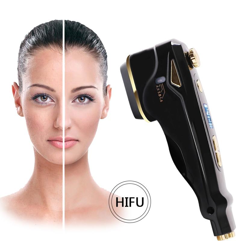 MINI HIFU Multifunctional Skin Care Ultrasonic Facial Beauty Instrument Facial Rejuvenation Anti Aging/Wrinkle Beauty Machine