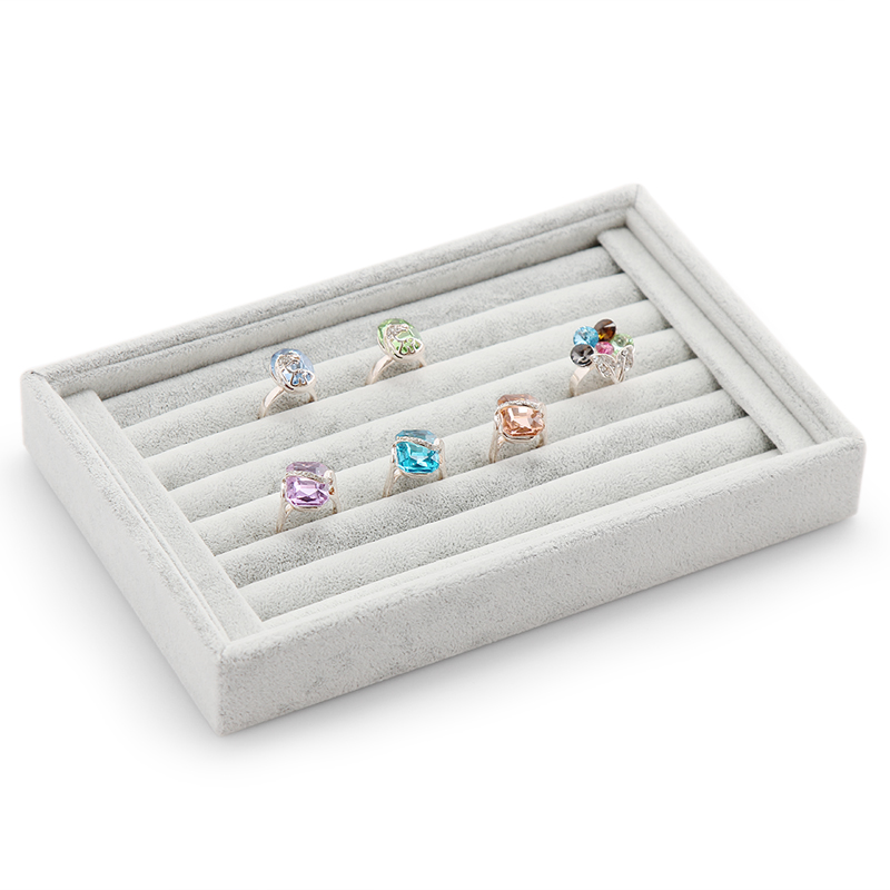 Aliexpresscom Buy velvet rings organizer tray jewelry case