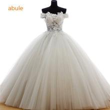 abule wedding dress 2017 real poto vintage princess Transparent fashion wedding gowns vestido de noiva customize plus size