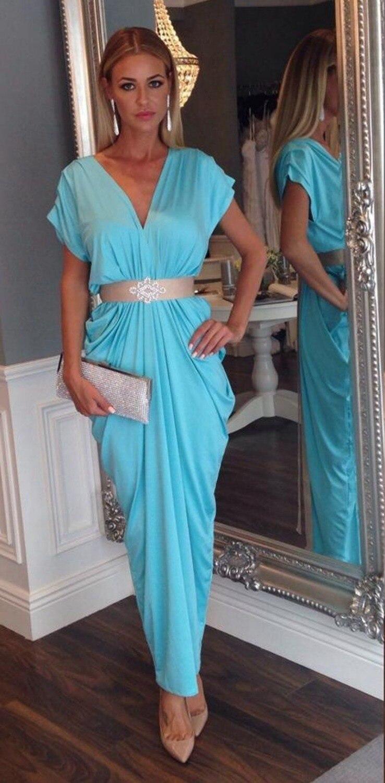 Nouveau caftan arabe robe de bal de soirée blanche arabe dubaï longue Sexy col en v avec manches courtes 2018 robes de mère de mariée