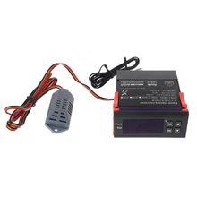 все цены на Digital Humidity Controller Hygrostat Relay Hygrometer Control Switch AC 220V онлайн