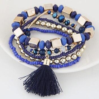 Bracelet perle bohème femme