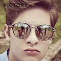 2016 Newest Men Women Fashion Round Mirror Sunglasses Steampunk Steam punk Hip Hop Hippie Clip On Vintage sunglasses Eyewear