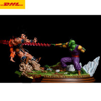 16Dragon Ball Statue Makankosappo Piccolo VS Son Goku With LED Light GK Action Figure Collectible Model Toy BOX 40CM B619