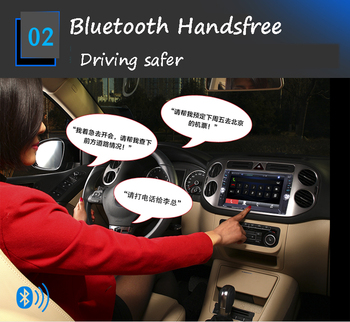 "2 Din Bluetooth  MP5 Player  12 languages  FM  Stereo  6.6"" hand-free  Car Radio  Touch Screen   Remote Control  USB/AUX/SD"