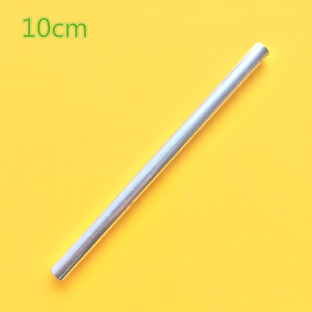 10cm K797Y Aluminum Pipe Out Diameter 6mm Inner Diameter 4mm Hollow Circular Pipe For DIY Model Making