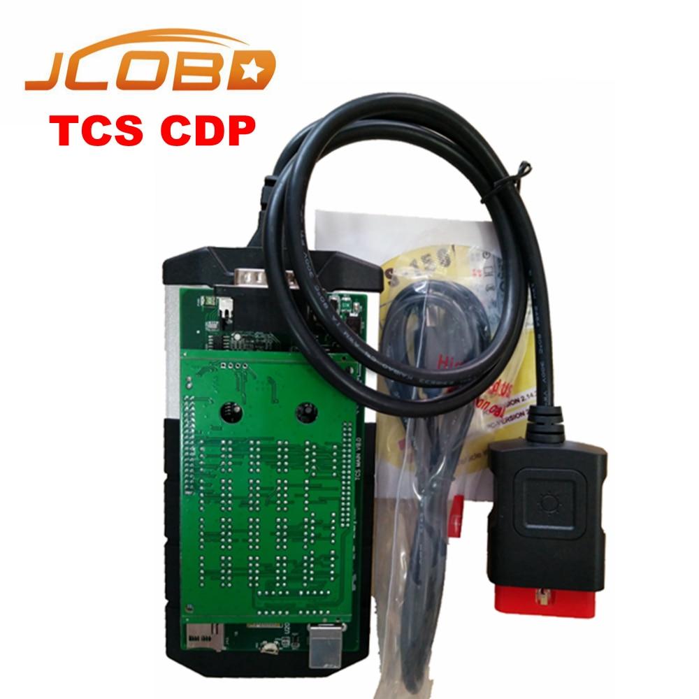 Prix pour Tcs Cdp Pour De Diagnostic-outil NEC Relais Vert PCB 2015R3/2014R2 Keygen En CD Nouveau VCI LED 3IN1 CDP Bluetooth pour Voiture/Camion