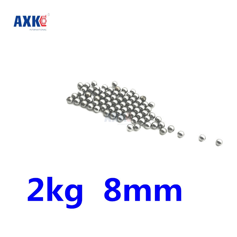 2kg Replacement Parts 8mm Bike Bicycle Steel Ball Bearing imc hot 100 pcs bicycle replacement silver tone steel bearing ball 6mm diameter