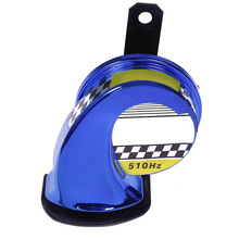NEW Snail Motorcycle Speaker 110DB 12V Euro Motorbike Racing Horn Car Sound Auto Loud Air Siren