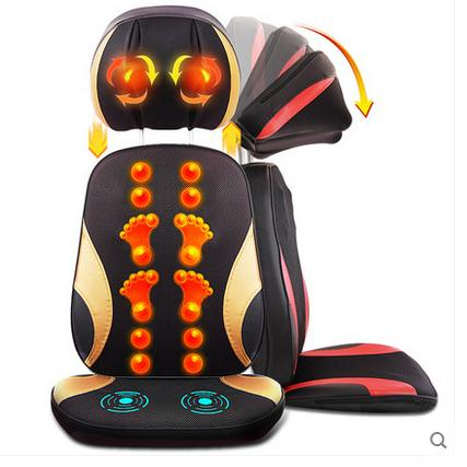 все цены на Cervical spine massager massage cushion body multi-purpose massage pillow chair cushion cushion for leaning on of household