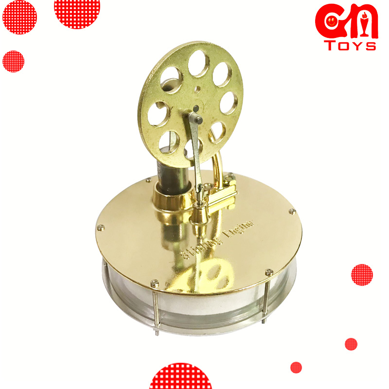 NEW Design Low Temperature Stirling Engine Model Science And Education Props Latest Design Physics Experiment Classroo