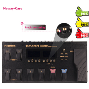 Image 3 - Neway Case Electric Guitar Multi Effect Protector Film for BOSS GT 100 Guitar Pedal Effects Accessories