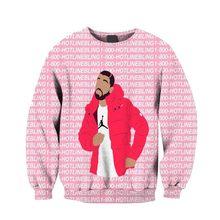 Moletom com capuz masculino jumper outfits jogger drake ovo 1-800 hotline bling 3d sublimação impressão velo sweats crewneck plus tamanho