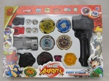 Бесплатная Доставка 4D Быстрота Игрушки Волчки Игрушки Металла Beyblade игрушки для детей С Четырьмя Beyblade Просветить Детские Игрушки Подарок
