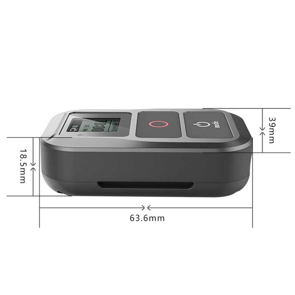 Беспроводные аксессуары удобный wifi прочная камера полезный анти-осенний пульт дистанционного управления водостойкий для Gopro Hero 6 Hero 5 4 3